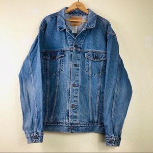 Levi's Mens Denim Jean Trucker Vintage Jacket